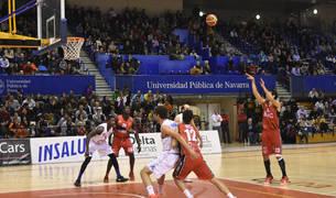Imagen de un partido anterior del Basket Navarra.