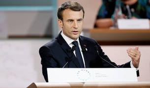 """Macron afirma que el mundo """"está perdiendo la batalla contra el cambio climático"""""""