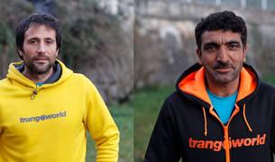 El vizcaíno  Álex Txikon y el paquistaní Ali Sadpara.