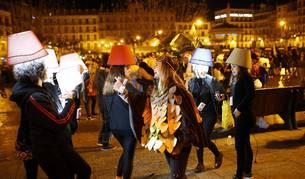 Imágenes de los disfraces de Nochevieja 2017 de Pamplona
