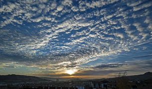 Jueves soleado y con temperaturas altas en Navarra