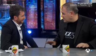 Antonio García Ferreras durante su entrevista en 'El Hormiguero'