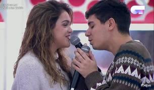 Amaia Romero y Alfred, uno de los dos duetos para la gala 12 de 'Operación Triunfo'.