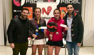 Ignacio Santos, Marta Sexmilo, Andrea Plano y Enrique Chiquirrín.