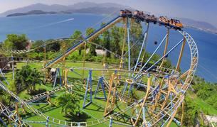 Un parque de atracciones de Vinpearl.