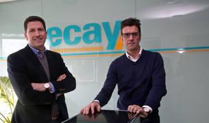 Imagen de Iñaki (izquierda) y Fran Ecay Ardanza, director gerente y director de operaciones, respectivamente.