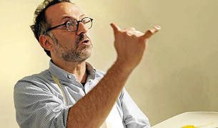El chef italiano Massimo Bottura será el anfitrión del jurado del III Basque Culinary World Prize.