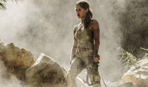 Alicia Vikander, como Lara Croft, en 'Tomb Rider'.
