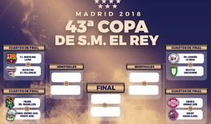 Cruces de la fase final de la Copa del Rey de balonmano.