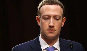 Mark Zuckerberg, durante su comparecencia