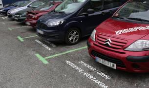 """Bajan las multas en la renovada zona """"verde"""" de Barañáin"""