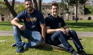 Los pivotes, Ander Ugarte y Antonio Bazán, continuarán en el Helvetia Anaitasuna dos temporadas más.