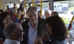 Comienza  la conexión gratuita al centro de Pamplona en autobús desde Trinitarios