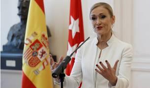 Cifuentes anuncia su dimisión como presidenta de la Comunidad de Madrid