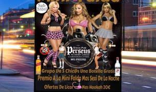 Imagen promocional de la  'Fiesta de la Minifalda'.