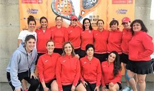 Integrantes de la selección navarra femenina.