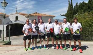 Equipo del Club Tenis Pamplona que ha participado en el campeonato.