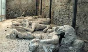 En el yacimiento de Pompeya
