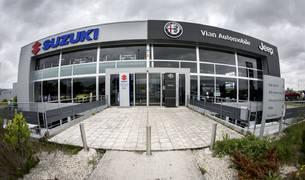 Las nuevas instalaciones de Suzuki, en el polígono de Mutilva Baja, forman parte del resto de marcas que representa el Grupo Vian Automobile.
