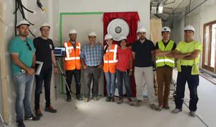 El centro de salud de Lodosa supera un test pionero en eficiencia energética