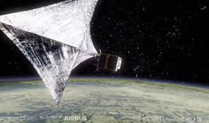 Lanzan al espacio una misión internacional que limpiará de basura el espacio