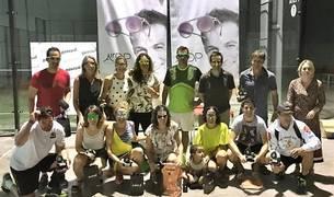 Ganadores del Trofeo Pascual Centro Óptico y Auditivo.