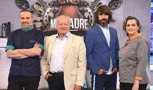 De izda. a dcha.: Rodrigo de la Calle, Juan Echanove, Santi Millán y Pepa Muñoz.