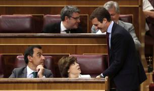 Santamaría y Casado, en el Congreso de los Diputados.