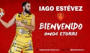 El club pamplonés da la bienvenida a Iago Estévez.