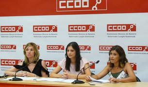 Campaña de CC OO en Navarra para denunciar contratos precarios este verano