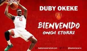 Basket Navarra incorpora al pívot estadounidense Duby Okeke