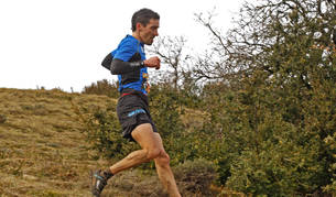 Xabier Zarranz en una carrera anterior
