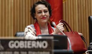 La ministra de Trabajo, Migraciones y Seguridad Social, Magdalena Valerio, comparece ante la Comisión de Trabajo