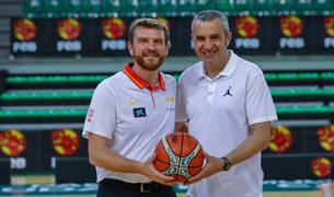 Los entrenadores pamploneses César Rupérez y Juantxo Ferreira, que disputarán el Mundial, se enfrentaron el pasado sábado, día 8.