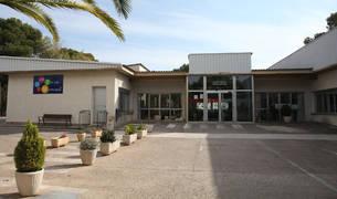 Exterior del colegio de educación especial Torre Monreal de Tudela.