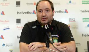 Iñaki Aniz, entrenador del Helvetia Anaitasuna.