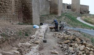 Los trabajos de excavación y el hallazgo han tenido lugar en el frente norte.