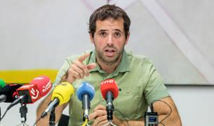 foto de El presidente de la Mancomunidad de la Comarca de Pamplona (MCP), Aritz Ayesa.