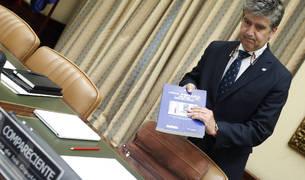 El portavoz del PP en el Senado y exdirector general de la Policía, Ignacio Cosidó.