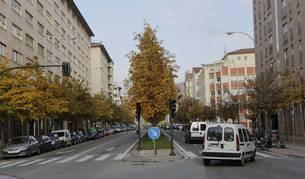 Bernardino Tirapu será una de las cuatro calles de la Rochapea que tendrá zona azul, junto a Marcelo Celayeta, Joaquín Beunza y Artica. El resto serán naranjas.