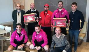 San Adrián acogió la última prueba del calendario del Circuito Ribera-Tierra Estella