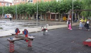 Detalle de la plaza Zumalakarregi,  que será sometida a una remodelación el próximo año.