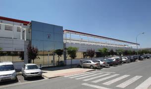 Imagen de archivo de la fábrica y sede de Azkoyen en Peralta.