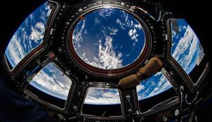 foto de La Tierra vista desde la Estación Espacial Internacional.