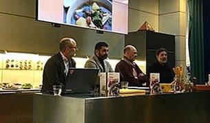 Un momento de la presentación del libro con recetas de la gastronomía gitana.