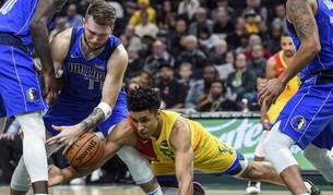 Luka Doncic logra el segundo 'triple-doble' más joven en la historia de la NBA