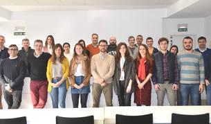 Miembros de varias de las empresas que forman parte del proyecto Ingenio Networking.