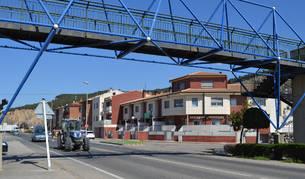 Azagra pide a Tráfico una solución a los problemas de la travesía