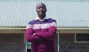 El maestro keniano Peter Tabichi