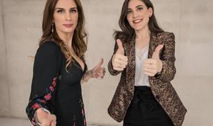 Boticaria García y Yolanda Vélaz en Expofamily